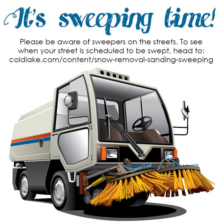 City of Cold Lake Releases Street Sweeping Schedule